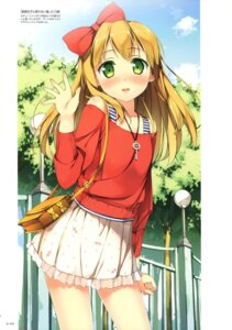 Rating: Questionable Score: 110 Tags: azuki_azusa hentai_ouji_to_warawanai_neko kantoku User: Twinsenzw
