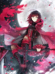 Rating: Safe Score: 39 Tags: dress pantyhose ruby_rose rwby tagme weapon User: Mr_GT