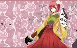 Rating: Safe Score: 13 Tags: hieda_no_akyuu i.s.w japanese_clothes takaharu touhou wallpaper User: Radioactive