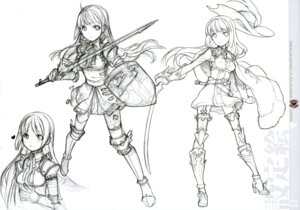 Rating: Safe Score: 14 Tags: h2so4 island_of_horizon monochrome sketch sword thighhighs User: Share