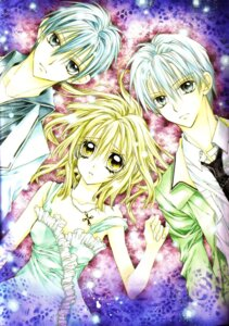 Rating: Safe Score: 5 Tags: otomiya_haine shinshi_doumei_cross tanemura_arina tougu_shizumasa tougu_takanari User: syaoran-kun