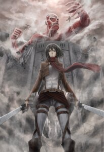 Rating: Safe Score: 25 Tags: infukun mikasa_ackerman shingeki_no_kyojin sword User: charunetra