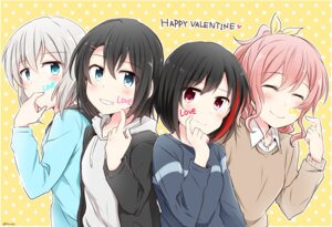 Rating: Safe Score: 12 Tags: bang_dream! sweater valentine yasaka_shuu User: saemonnokami