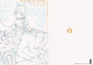 Rating: Explicit Score: 6 Tags: animal_ears ass hagiwara_yukiho lingerie monochrome nekomimi oyari_ashito pussy_juice shoujo_kishidan sketch the_idolm@ster User: Radioactive