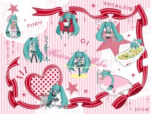 Rating: Safe Score: 5 Tags: hatsune_miku kirishima_yuuki vocaloid User: charunetra