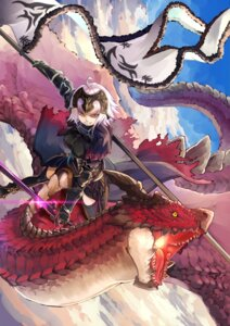 Rating: Safe Score: 9 Tags: armor fate/grand_order jeanne_d'arc jeanne_d'arc_(alter)_(fate) monster sword tagme thighhighs User: Mr_GT