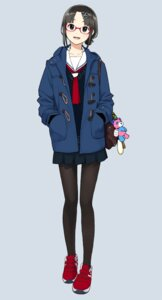 Rating: Safe Score: 40 Tags: megane morichika pantyhose seifuku sweater User: nphuongsun93