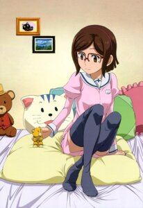 Rating: Safe Score: 31 Tags: gundam gundam_build_fighters kousaka_china matsukawa_tetsuya megane thighhighs User: drop