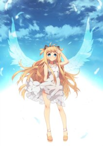 Rating: Safe Score: 43 Tags: animal_ears btoor dress nekomimi see_through seeu summer_dress vocaloid wings User: charunetra