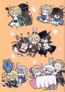 Rating: Safe Score: 13 Tags: alice_(pandora_hearts) chibi echo eliot_nightray emily_(pandora_hearts) gilbert_nightray glen_baskerville jack_vessalius leo_baskerville megane mochizuki_jun oz_vessalius pandora_hearts reim_lunettes scanning_artifacts screening shalon_rainsworth vincent_nightray xerxes_break User: hirotn