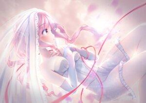 Rating: Safe Score: 10 Tags: azur_lane dress juno_(azur_lane) see_through unwitherer wedding_dress User: BattlequeenYume