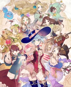 Rating: Safe Score: 24 Tags: atelier atelier_nelke ayesha_altugle cleavage dress firis_mistlud logix_ficsario nelke_von_lustern noco sophie_neuenmuller sword thighhighs totooria_helmold weapon User: lounger