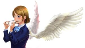 Rating: Safe Score: 12 Tags: koizumi_hanayo love_live! megane seifuku turiganesou800 wings User: NotRadioactiveHonest