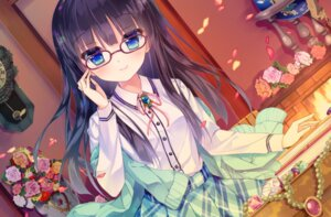 Rating: Safe Score: 83 Tags: megane seifuku shiwasu_horio sweater User: 糖果部部长