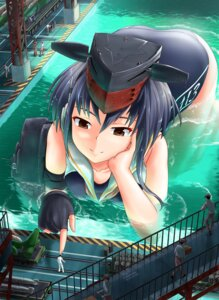 Rating: Safe Score: 11 Tags: i-13_(kancolle) kantai_collection school_swimsuit seifuku swimsuits theerawat wet User: Mr_GT