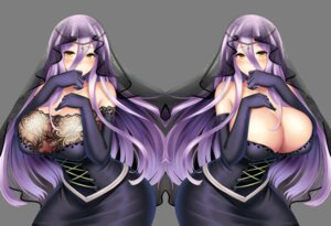 Rating: Questionable Score: 24 Tags: breast_hold cleavage dress see_through transparent_png xua_han_nin User: mash