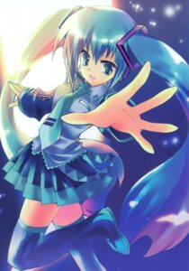 Rating: Safe Score: 16 Tags: hatsune_miku rei rei's_room thighhighs vocaloid User: fireattack