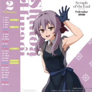 Rating: Safe Score: 26 Tags: calendar dress hiiragi_shinoa owari_no_seraph see_through User: Twinsenzw