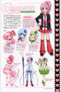 Rating: Safe Score: 9 Tags: amulet_clover amulet_heart amulet_spade cheerleader hinamori_amu miki ran shugo_chara suu User: charunetra