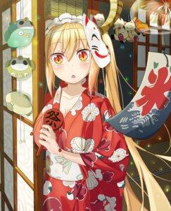 Rating: Safe Score: 44 Tags: cleavage horns kobayashi-san_chi_no_maid_dragon tooru_(kobayashi-san_chi_no_maid_dragon) wuming yukata User: Spidey
