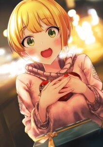 Rating: Safe Score: 39 Tags: baffu miyamoto_frederica sweater the_idolm@ster the_idolm@ster_cinderella_girls valentine User: Mr_GT