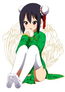 Rating: Questionable Score: 66 Tags: chinadress k-on! nakano_azusa ragho_no_erika thighhighs User: 椎名深夏