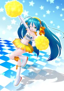 Rating: Safe Score: 21 Tags: akahige cheerleader hatsune_miku vocaloid User: Amdx1