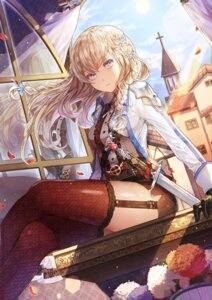 Rating: Safe Score: 63 Tags: fishnets limobok stockings sword thighhighs uniform User: Mr_GT