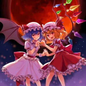 Rating: Safe Score: 14 Tags: flandre_scarlet remilia_scarlet tagme touhou wings User: Mr_GT