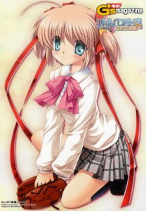 Rating: Safe Score: 10 Tags: hinoue_itaru kamikita_komari key little_busters! seifuku User: admin2