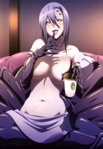 Rating: Questionable Score: 91 Tags: monster_girl monster_musume_no_iru_nichijou rachnera_arachnera topless User: drop