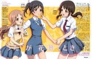 Rating: Safe Score: 17 Tags: miyamoto_konatsu ohigashi_yurie okita_sawa sakai_wakana seifuku tari_tari User: Radioactive
