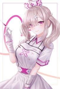 Rating: Safe Score: 38 Tags: bandages nacho nijisanji nurse sukoya_kana User: Mr_GT