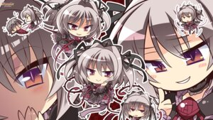 Rating: Safe Score: 11 Tags: chibi hapymaher komowata_haruka naitou_maia purple_software tail wallpaper User: Anonymous