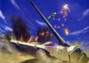 Rating: Safe Score: 9 Tags: gun gundam mecha mobile_suit_gundam ms-06_zaku_ii User: drop