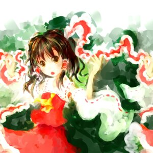 Rating: Safe Score: 2 Tags: hakurei_reimu sakana_(packetsjp) touhou User: eridani