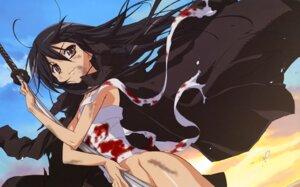 Rating: Questionable Score: 19 Tags: bandages blood hasegawa_shinya nopan shakugan_no_shana shana User: Radioactive