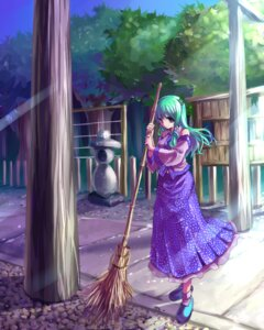 Rating: Safe Score: 7 Tags: kobanzame kochiya_sanae touhou User: konstargirl
