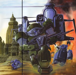 Rating: Safe Score: 3 Tags: fixme gap mecha votoms User: Densha