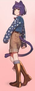 Rating: Safe Score: 19 Tags: aconitea animal_ears male nekomimi tail User: charunetra