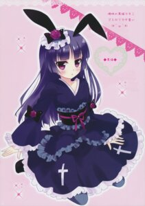 Rating: Safe Score: 30 Tags: ame_to_yuki animal_ears bunny_ears gokou_ruri lolita_fashion ore_no_imouto_ga_konnani_kawaii_wake_ga_nai wa_lolita yukata User: blooregardo