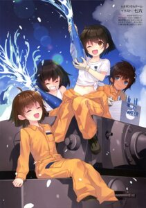 Rating: Safe Score: 9 Tags: girls_und_panzer hoshino_(girls_und_panzer) nakajima_satoko nanaroku suzuki_(girls_und_panzer) tsuchiya_(girls_und_panzer) uniform User: drop