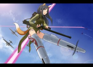 Rating: Questionable Score: 25 Tags: animal_ears hu_sea kitsune strike_witches suwa_amaki tail User: Radioactive