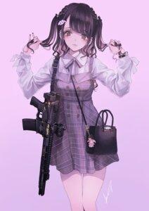 Rating: Safe Score: 30 Tags: dress gun koh_(minagi_kou) User: Dreista