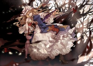 Rating: Safe Score: 24 Tags: dhiea touhou yakumo_yukari User: fairyren