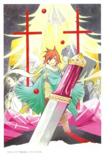 Rating: Safe Score: 2 Tags: cross_marian d.gray-man hoshino_katsura lavi sword User: Radioactive