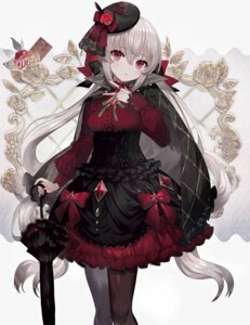Rating: Questionable Score: 56 Tags: abandon_ranka dress gothic_lolita lolita_fashion pantyhose umbrella User: Dreista