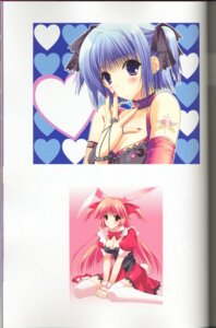 Rating: Safe Score: 5 Tags: animal_ears binding_discoloration bunny_ears cleavage suzuhira_hiro thighhighs User: MDGeist