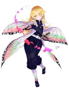 Rating: Safe Score: 20 Tags: bakemonogatari cosplay japanese_clothes kimetsu_no_yaiba kochou_shinobu m.tokotsu oshino_shinobu sword uniform User: IntellectualSenpai69