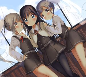 Rating: Safe Score: 61 Tags: asashio_(kancolle) kantai_collection kasumi_(kancolle) ooshio_(kancolle) pantyhose uniform zuho_(vega) User: Mr_GT
